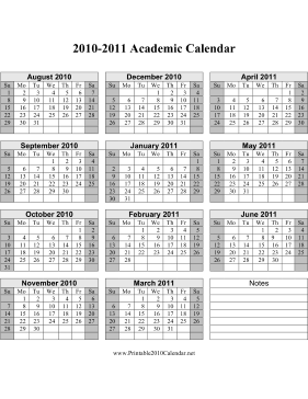 2010 Calendar Template from cdn.printable2010calendar.net